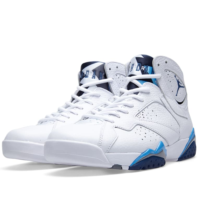 buy online b0f56 6b170 ... shop nike air jordan vii retro french blue white french blue 1 22342  fff99