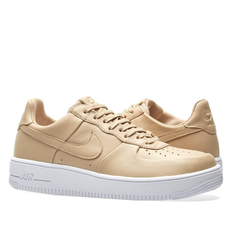 a876b9f1c80a Nike Air Force 1 Ultra Force Leather (Linen   White)