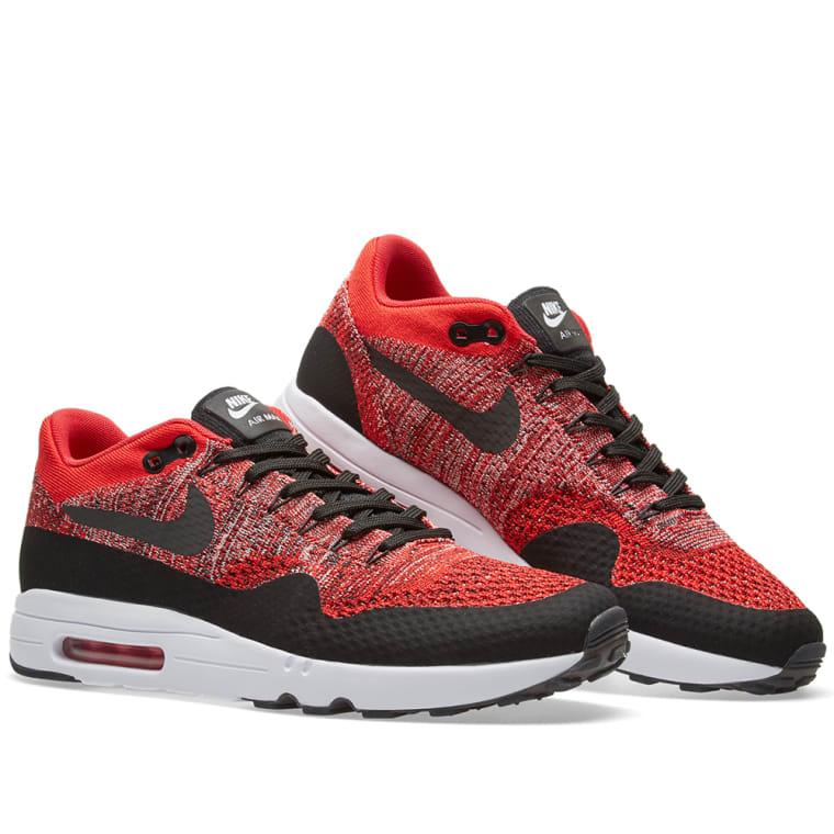 Nike Air Max 1 Ultra 2.0 Flyknit (University Red   Black)  32560910d