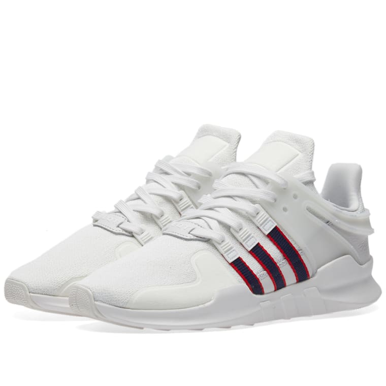 new product 2ec16 ed22e ... wholesale adidas eqt support adv white navy scarlet 1 796b4 4a941