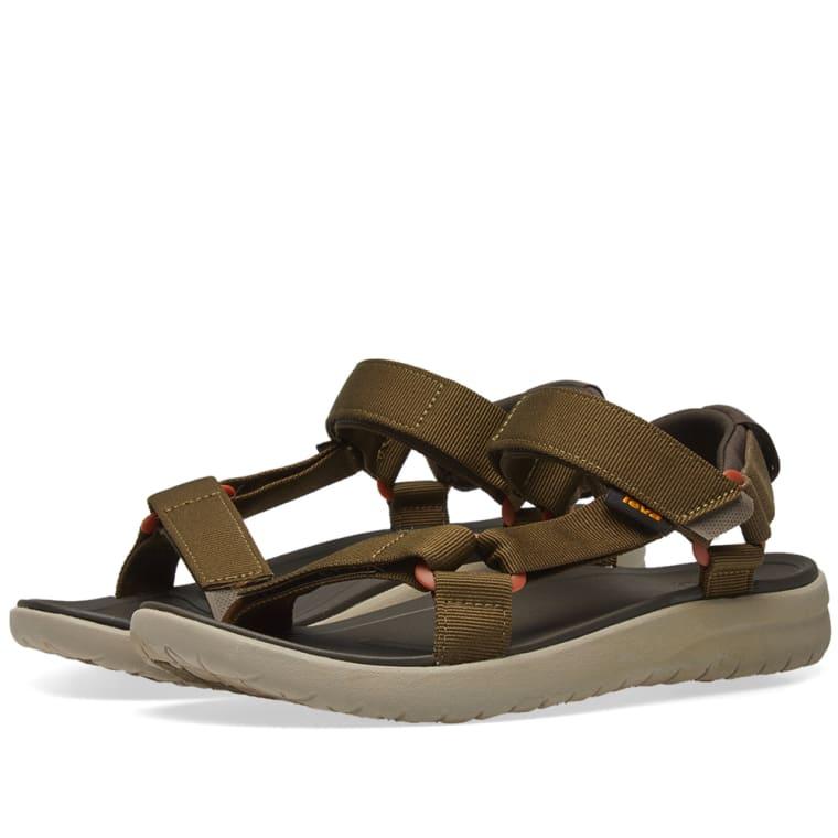 1eaa544ddca Teva Sanborn Universal Sandal (Olive)