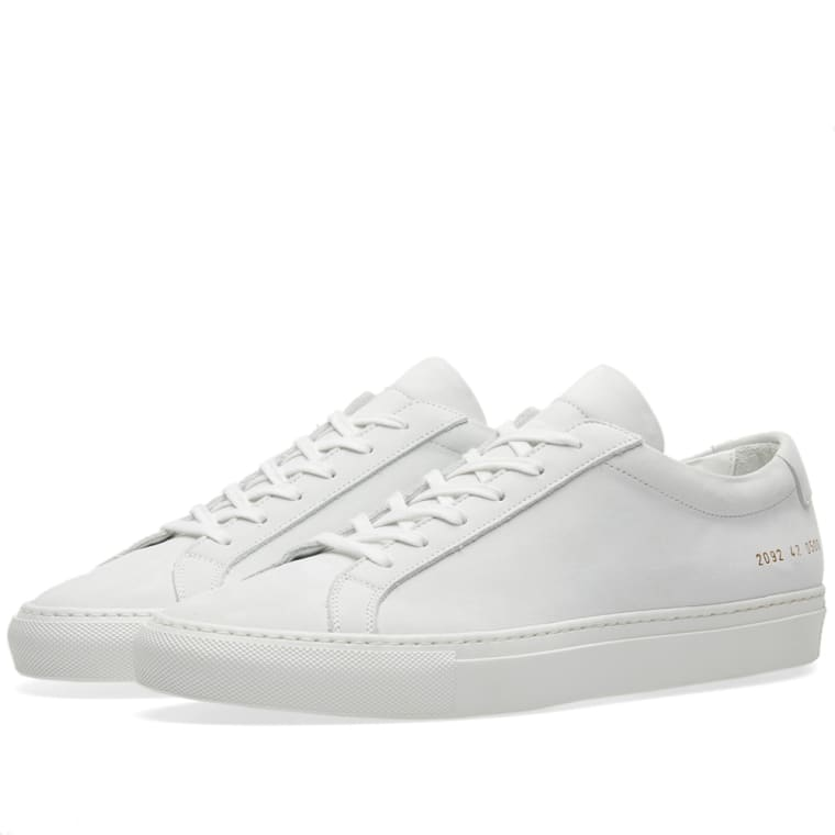 Common Projects Original Achilles Low Nubuck (White) | END.