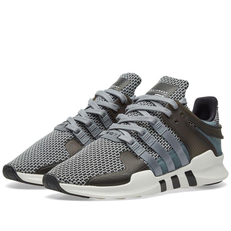 Adidas EQT Support ADV (Grey   Core Black)  6c998ae502