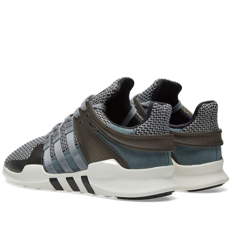 separation shoes 2cdb7 f8c36 Adidas EQT Support ADV Grey  Core Black 2