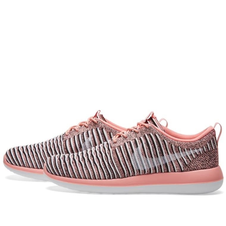 Nike W Roshe Two Flyknit (Bright Melon 15986f33e7
