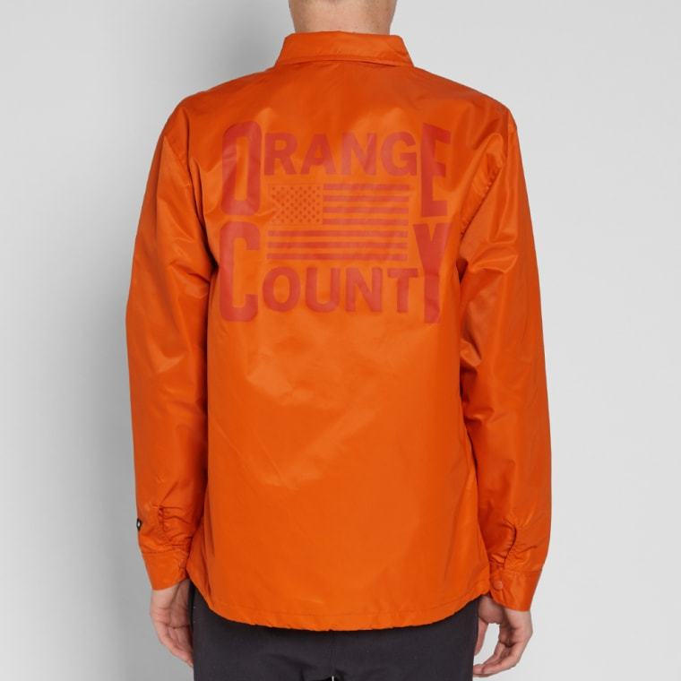 Vans Vault X Our Legacy Coach Jacket Orange End