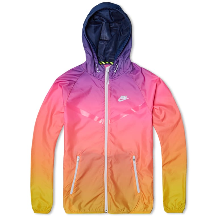 nike multicolor windbreaker