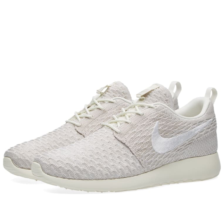 super popular a9394 e374b 50% off nike w roshe one flyknit sail white 1 51c13 f2ddb