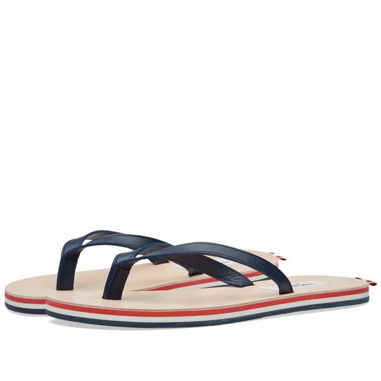Thom BrowneTricolor Leather Sandals