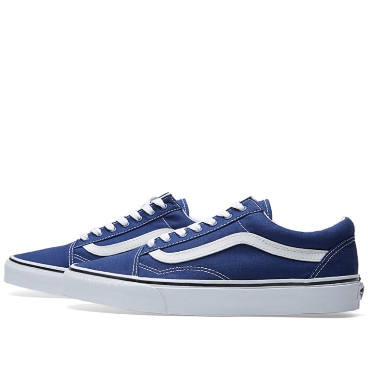 Vans Old Skool (Twilight Blue   True White)  e6a58607cf31