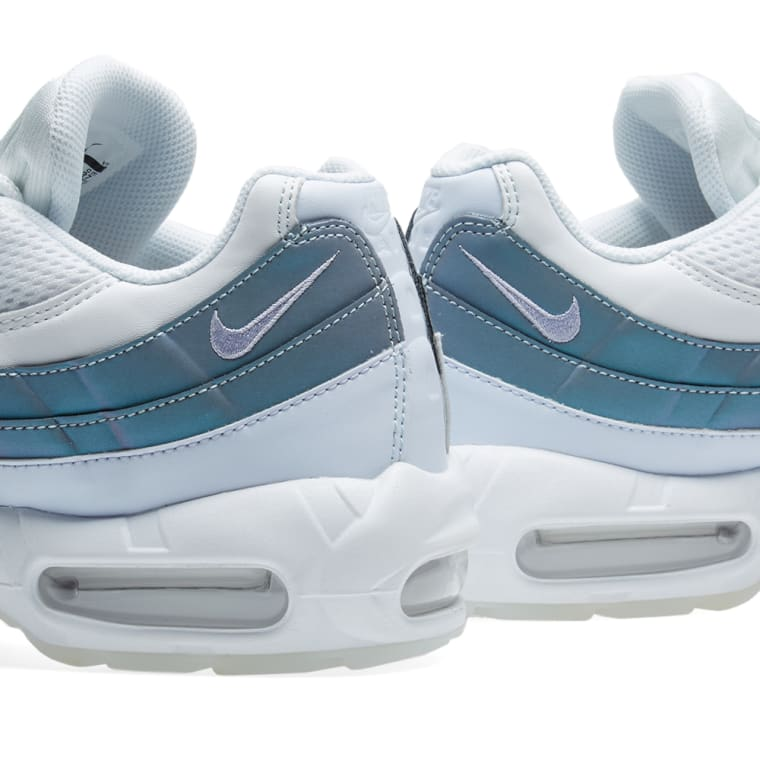 cheaper 328c0 788b4 ... Nike Air Max 95 Premium Glacier Blue, Purple White ...