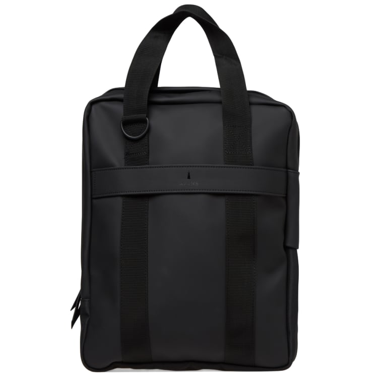 Rains Utility Tote Bag Black 1