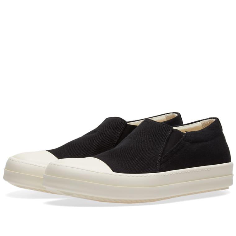 Rick OwensBoat Sneakers /Milk