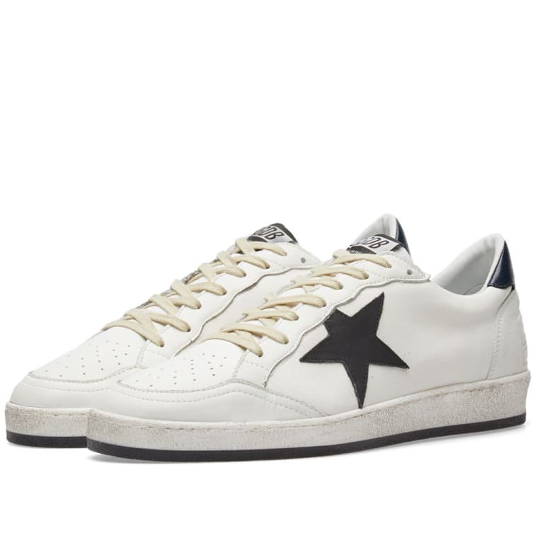 Golden Goose White Signature Ball Star Sneakers