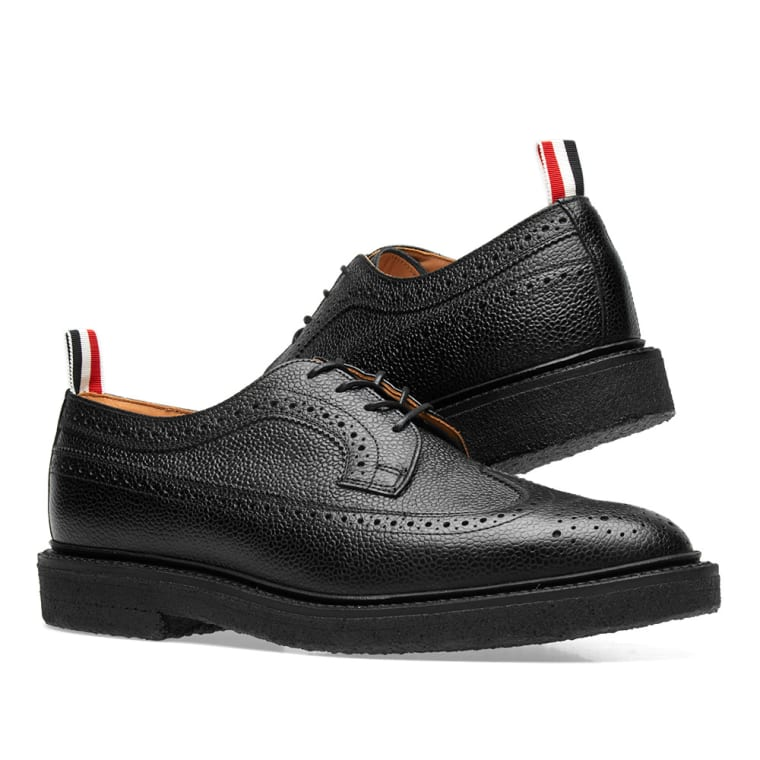 Thom Browne Classic Longwing Crepe Sole Brogues