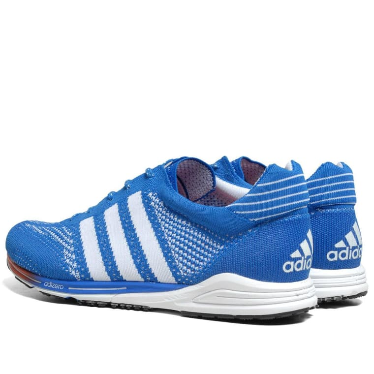 online store 9c6b1 35f9e Adidas Adizero PrimeKnit Beijing Marathon Prime Blue  Running White 5