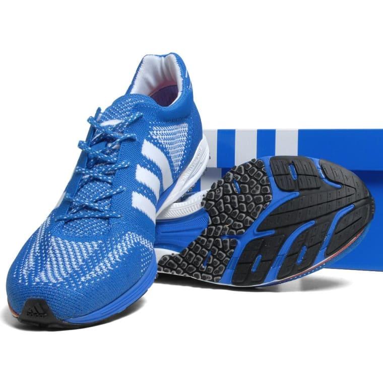 huge discount f9f92 e6c9c Adidas Adizero PrimeKnit Beijing Marathon Prime Blue  Running White 1
