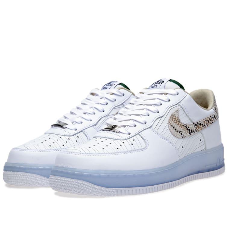 sale retailer b46c9 00968 ... Nike Air Force 1 Low PRM CMFT QS White 2 ...
