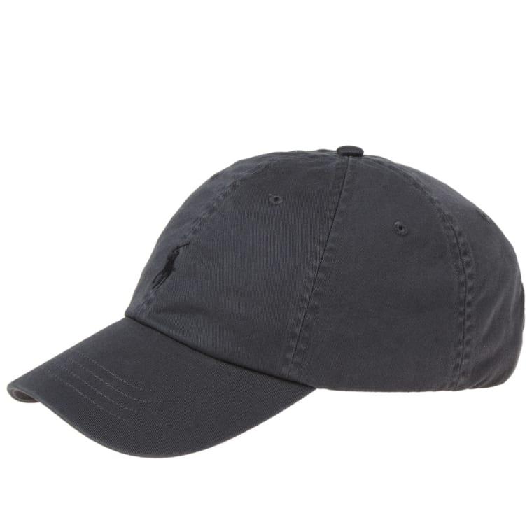 Polo Ralph Lauren Classic Baseball Cap (Mask Black)  8406b6481d3