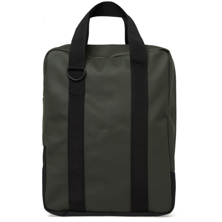 Rains Utility Tote Bag Green 3