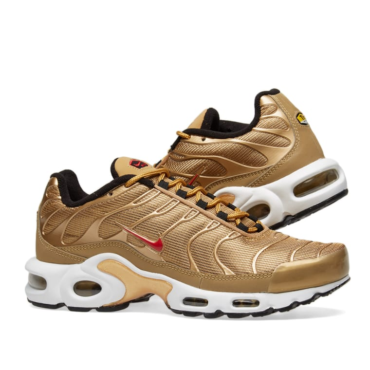 ... ebay nike air max plus qs metallic gold red black 7 27b02 c78f0 2d5dce154a72
