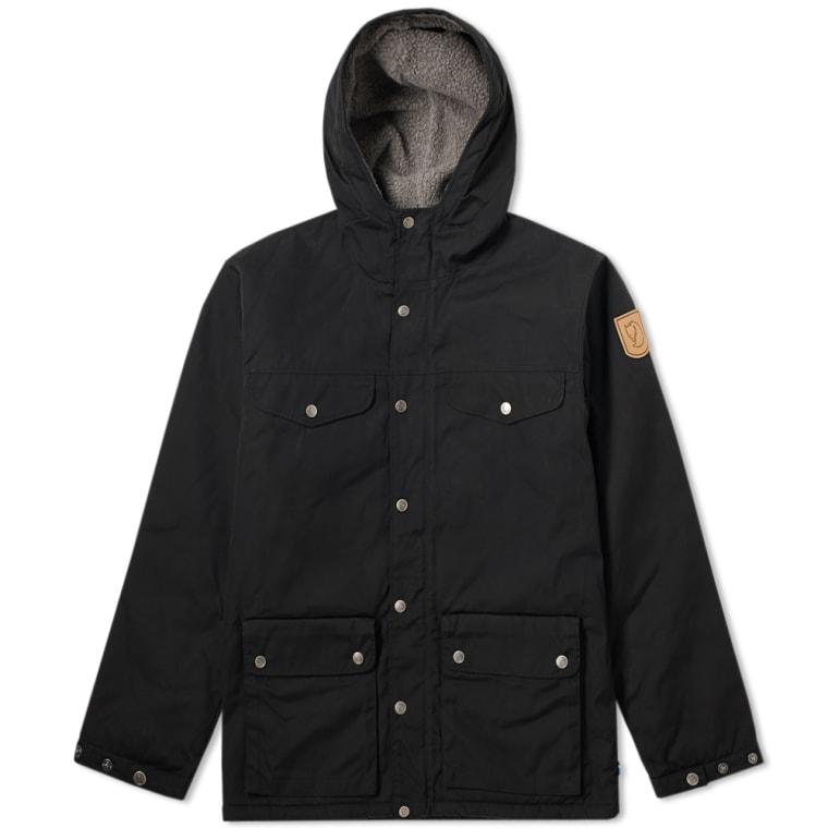Fjallraven Greenland Winter Jacket Black Grey End