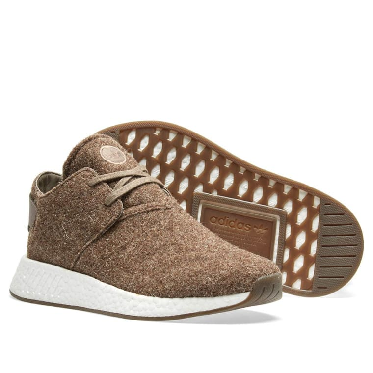 2ce116f3017 Adidas x Wings + Horns NMD C2 (Simple Brown   Gum)