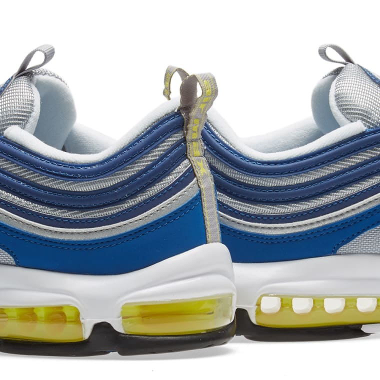 the latest b6a6e 5bf27 Nike Air Max 97 (Atlantic Blue & Voltage Yellow) | END.