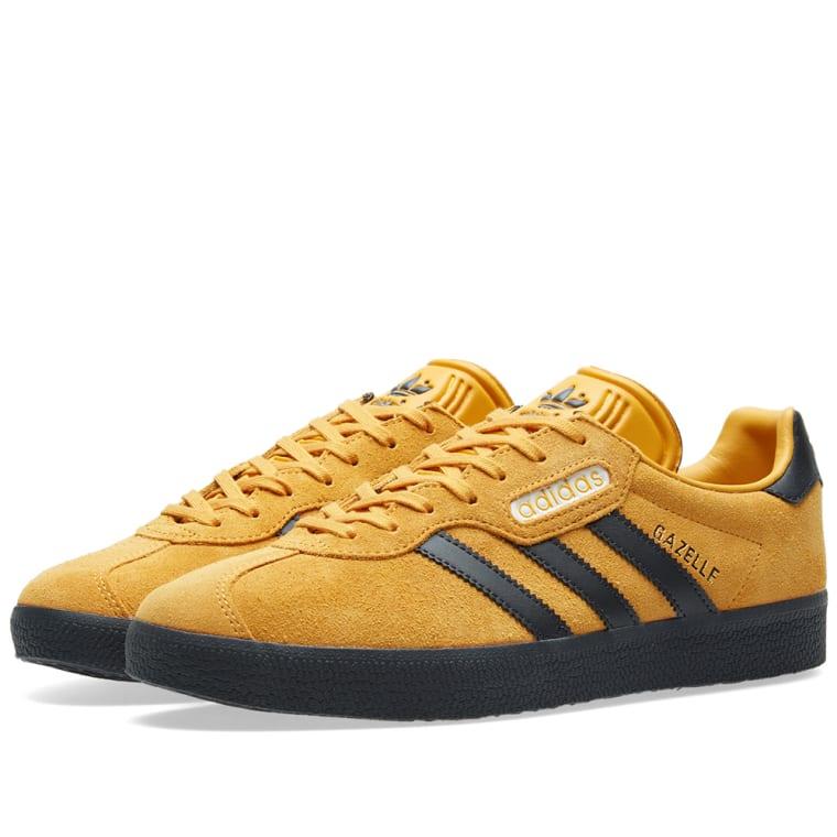 3060340b1138d Adidas Gazelle Super (Yellow, Carbon   Off White)   END.