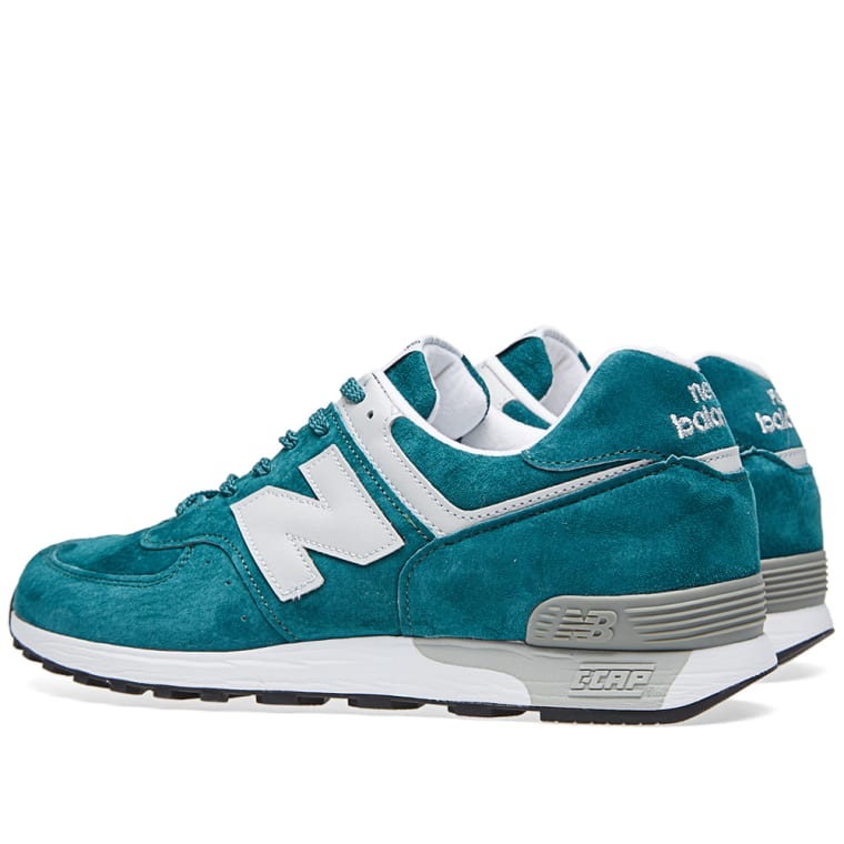 New Balance M576PTG - Made in England (Teal   White)  39b179c0754