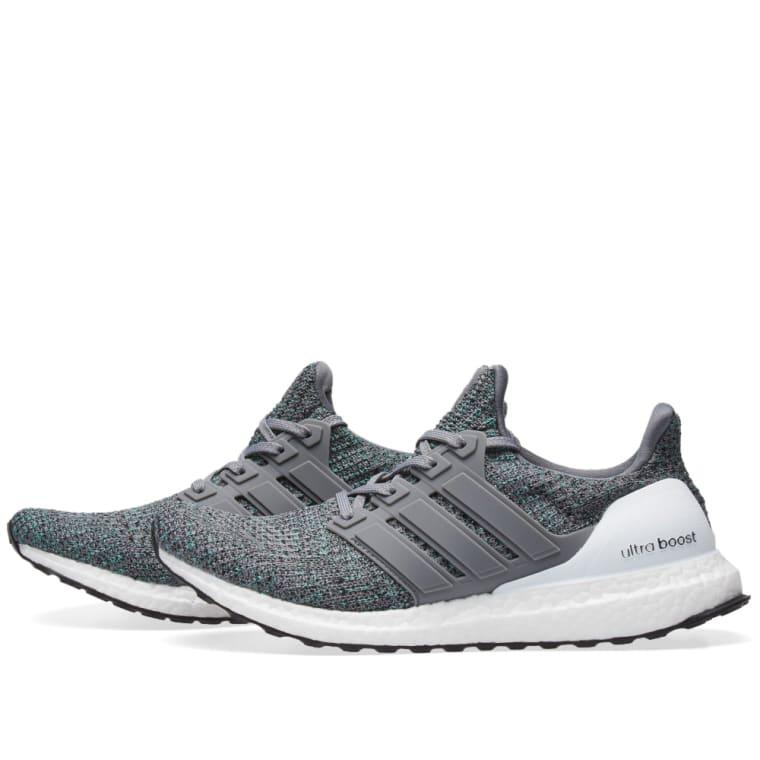 2ac230843e4 adidas ultra boost grey green  adidas ultraboost grey four green 2