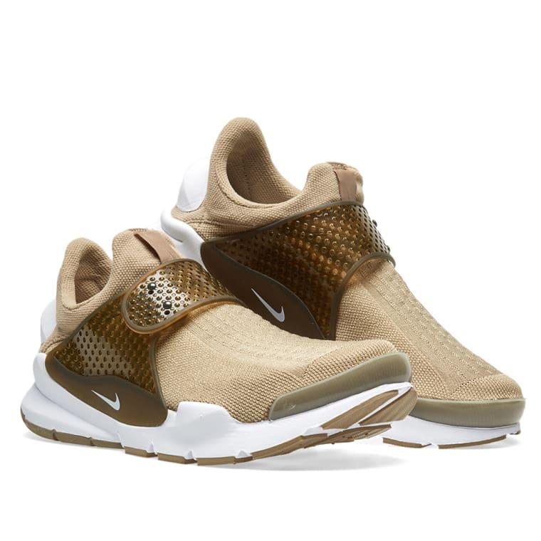 watch 49f2f b8390 ... Nike Sock Dart KJCRD Khaki White ...