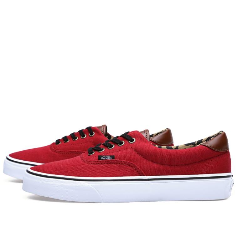 Vans Era 59 C L (Red   Leopard)  9b3bef3d98