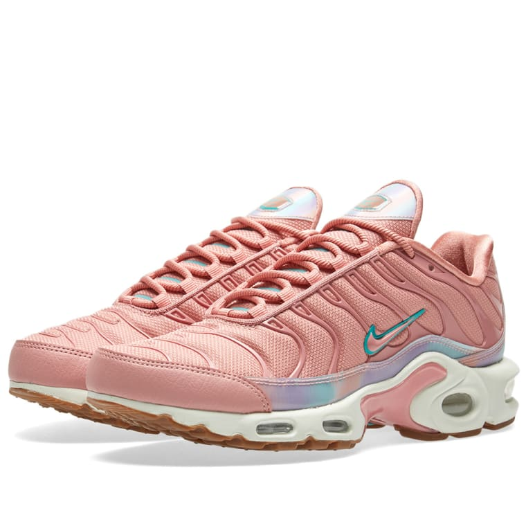 Wmns Nike Air Max Plus LX Lux Velvet Particle Rose Pink Women Running AH6788 600