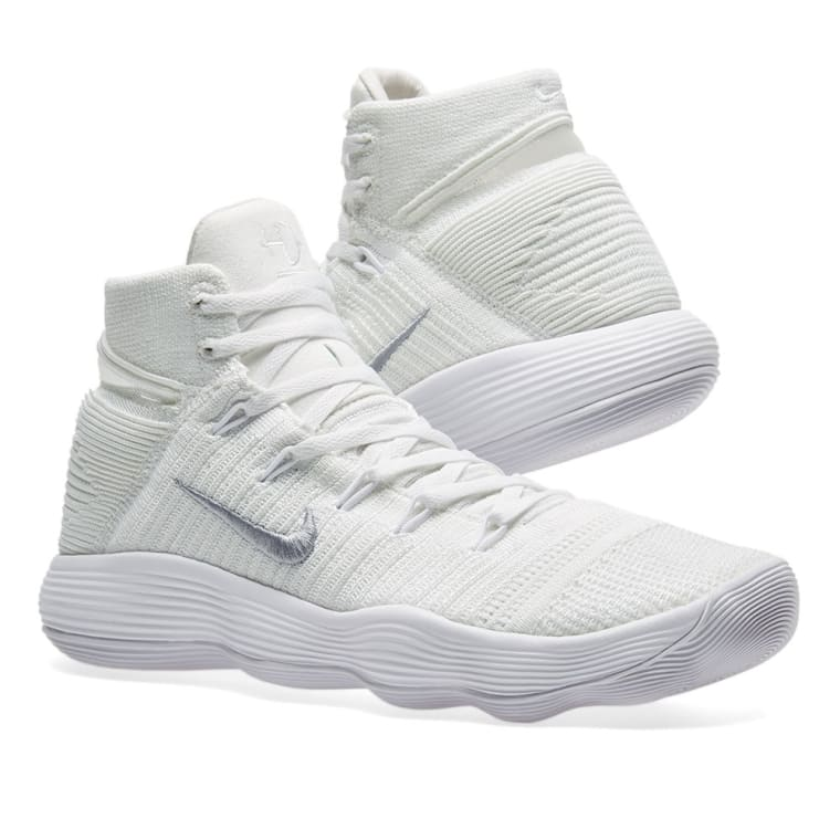 bc021ff2c5f ... where can i buy nike hyperdunk 2017 flyknit white metallic silver 7  3aa34 e245a