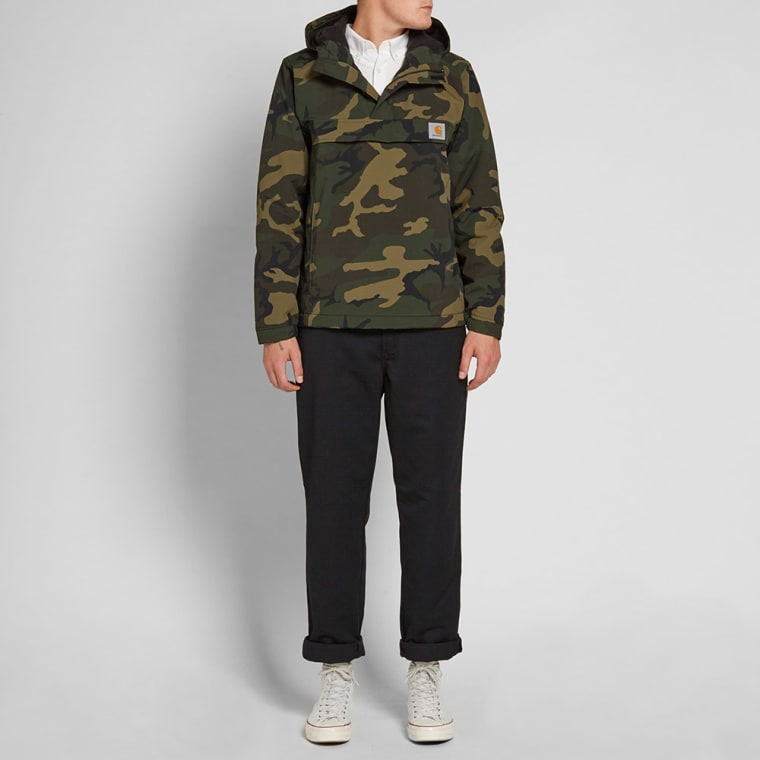 Carhartt Nimbus Pullover Jacket (Camo Green) | END.