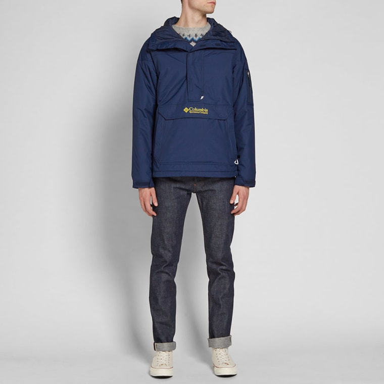 Columbia Challenger Pullover Jacket (Collegiate Navy & Antique ...