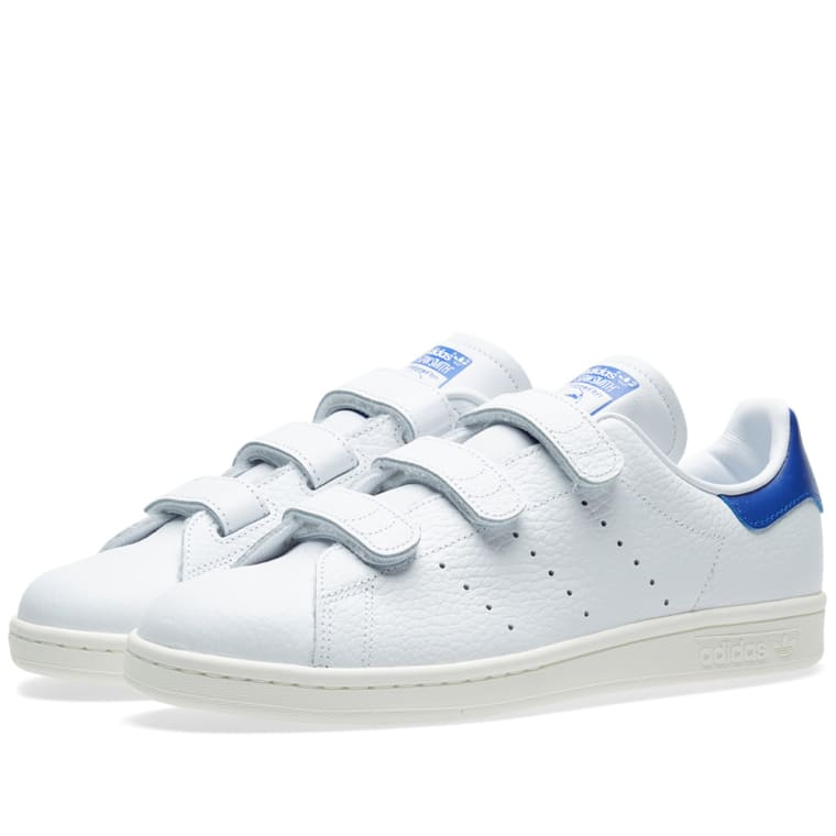 Blue White Adidas Stan Smith High Tops Year Of Coat Shoes Norway