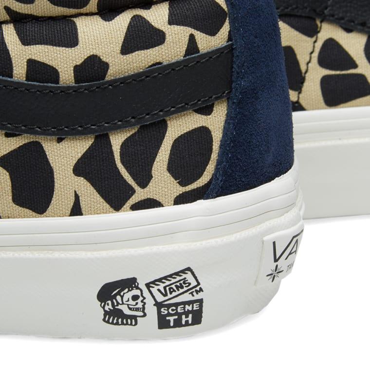 afcc847c34c Vans Vault x Taka Hayashi Style 138 LX (Cheetah Field)