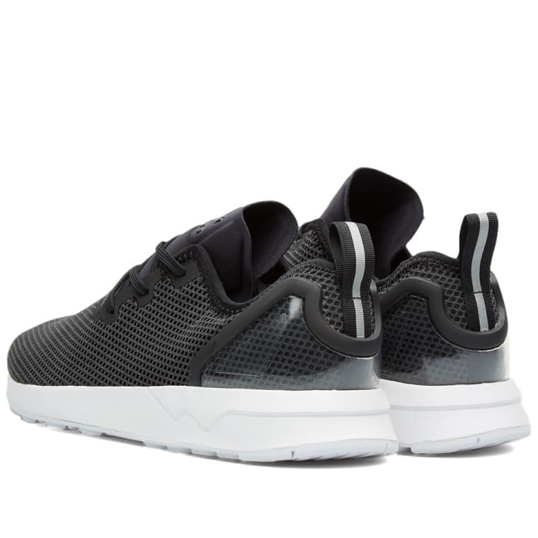 52d529699 ... reduced adidas zx flux racer asym core black white 6 027d5 0e75d