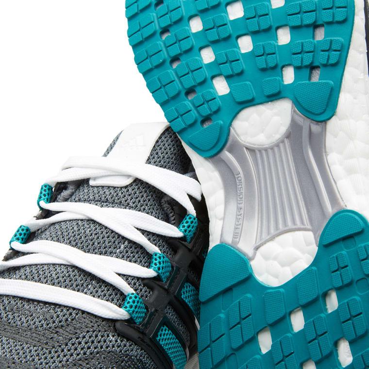 new styles 01af7 3b38e Adidas Energy Boost 3 Grey, EQT Green  Core Black 3