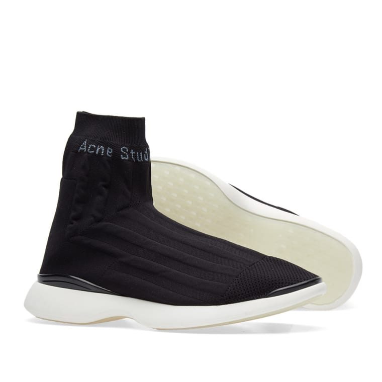 Acne & Tristan High-Top Sneakers