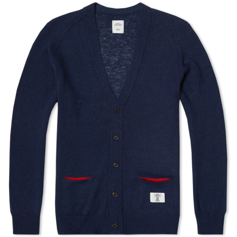 db606380944 Bedwin   The Heartbreakers Godard Cardigan (Navy)