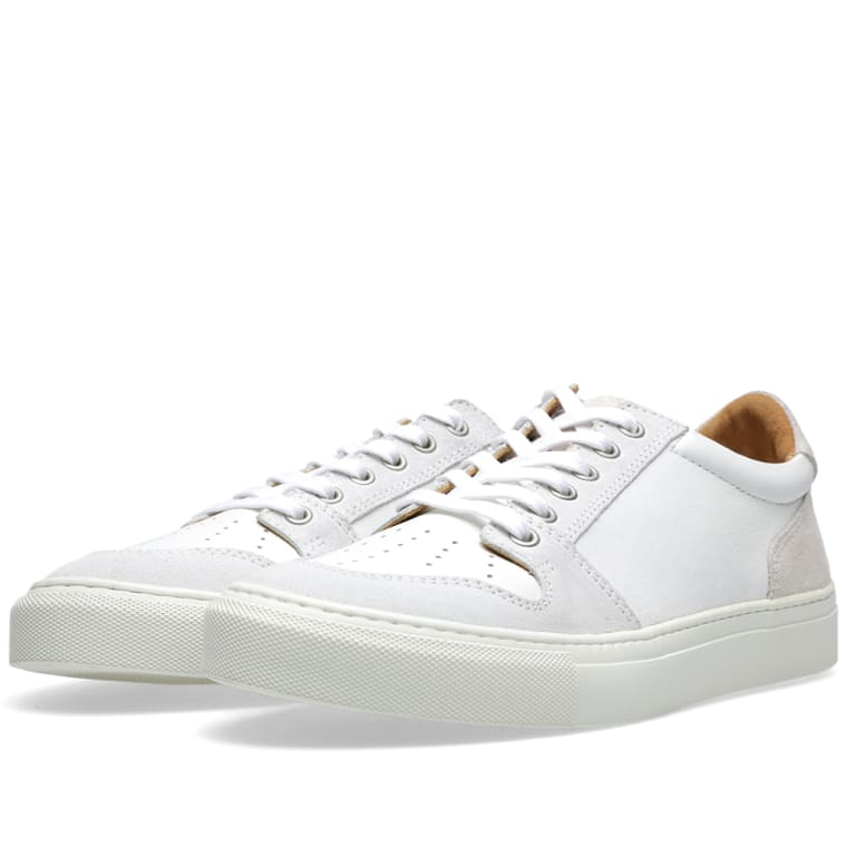 Leather And Suede Sneakers Ami