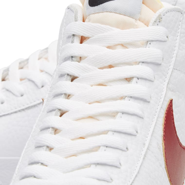cheap for discount 3842a f605b Nike Blazer Mid Lifestyle Shoes White Red