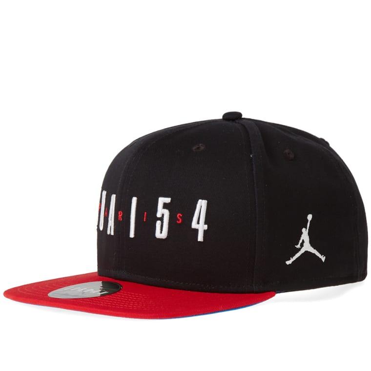 ceeed194bea Nike Jordan Q54 Pro Snapback (Black   University Red)