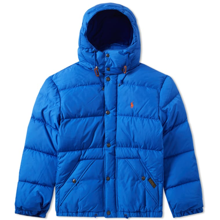 Polo Ralph Lauren Elmwood Down Jacket Blue FLAT 1