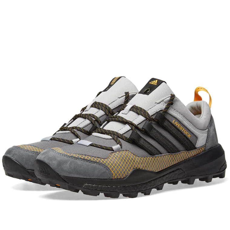 Adidas x Livestock Terrex Skychaser (Stone   Core Black)  03af79a13824