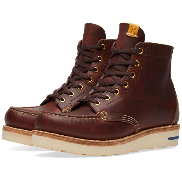 visvim Blackstone Leather Boots