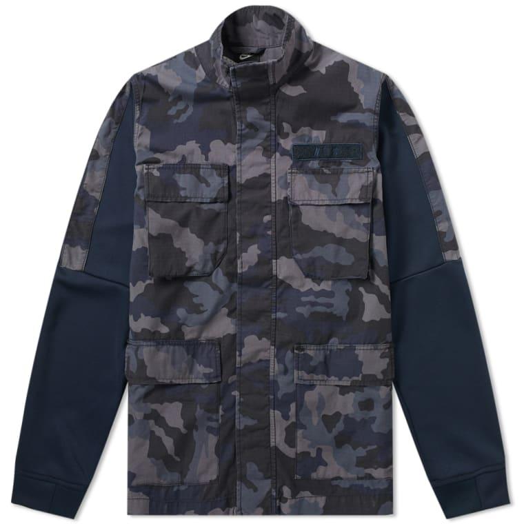 Nike Camo Jacket (Dark Obsidian   White)   END. f16b3e803a70